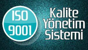 İso 9001 Kalite Yönetim Sistemi